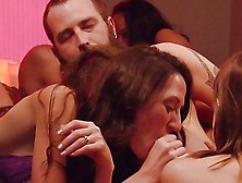 Swingers Nasty Orgy In Playboy Mansion