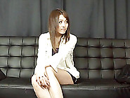 Naughty Japanese Girl In Shorts Sucks And Fucks Two Guys