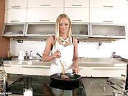 Kiara Lord Cooking Up A Storm In The Kitchen