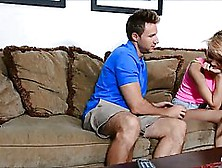 Sexy Dakota Skye Is Doing It On The Couch With A Guy Who Is Her