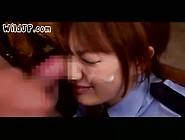 Japanese Police Girl Cum Slut