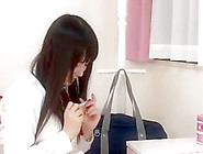 Petite Japanese Teen Gets A Creampie