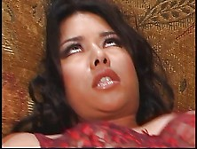 Ravishing Young Latin Fuck Slut Welcomes White Dick Up Her Crapp