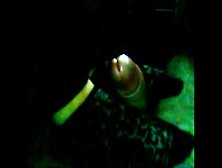 Sexy Sockjob By Gf And Huge Cumshot