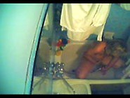 Hidden Cam Girl Masturbating With Shower