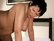 Chubby Brunette Mature Seduces Young Cock And Gets A Cumshot