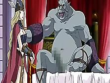 Hentai Slave Sucking Monster Cock And Facial Cumshot