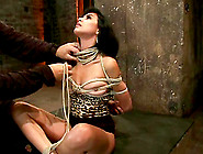 Heather Vahn Gets Her Pussy Toyed To Orgasm In Bdsm Scene
