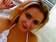 Beautiful Italian Babe Pornstar Anna Belle Amazing Creampie Sex