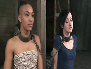 Ebony And White Sex-Slaves Are Punished