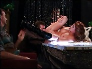 Hot Redhead Stripper Gets Fuck In Front Of Every Customers - Ana