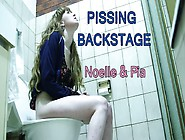 Girlsoutwest Noelle Pia Pissing Backstage