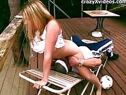 Chunky Blonde Chick Big Tit Fucker