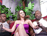 Brooklyn Chase Lets Two Black Dudes Play With Her Big Natural Ti