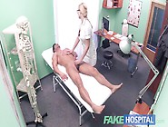 Fake Hospital Fit Guy Cums Over Hot Blonde Nurses Tits After Fuc