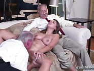 Old Man Strapon And Old Mature Brunette And Old Man Yong Girl An