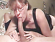 Curly Messy Haired Mature Slutty Housewife Gave My Buddy A Blowj