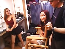 Asian Tarts Compete To Be Champion Whore
