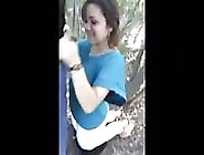 Nice Girl Gives A Quick Suck Outdoors