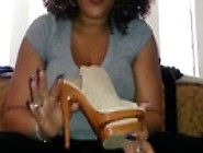Very Hot Ebony Thick,  Wrinkled Soles