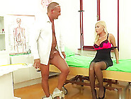 Mature Dona Bell Fucks With Doctor