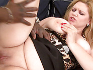 Bbw And A Super Thick Black Cock Have Hot Anal Sex