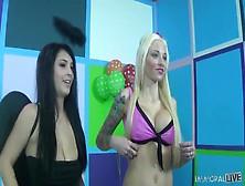 Sexy Girls Are Sharing Man's Boner