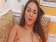 Busty Russian Hottie Babe Reaches Orgasm