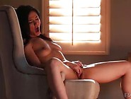 Lovely Young Girl Logan Drae Alone Fingering Her Pussy