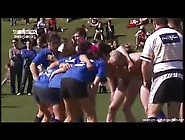 Rughby Whore's Team Playing Naked