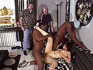 Amateur White Chick Gangbanged By A Couple Of Black Men