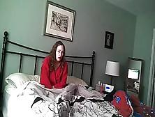 Wife Caught Masturbating - In Color - Hidden Cam - 5-1-16