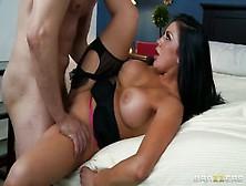 Pornstar Sex Video Featuring Audrey Bitoni And Mark Ashley