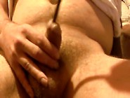 Chubby Amateur Stuffing His Dick