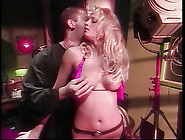 Lusty Blond Babe With Huge Tits Gets Her Pussy Licked