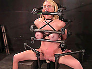Krissy Lynn Gets Her Snatch Whipped And Toyed While Being A Pill