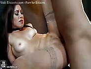 Nympho In Nude Nylons Gets A Rough Fuck In The Butt