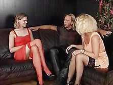 Hot Vintage Mature On Young Orgy Sex