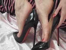 Black Heels 14Cm Wanna Cum Inside ?
