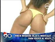 Rocio Miranda Peruvian Volleyball Player