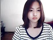 Lovely Korean Girl Masturbates On Webcam