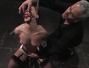 Water Torture For Katja Kassin After Dildoing Her Inside Bound S