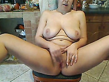 My Wife With Saggy Tits Loves To Masturbate In Front Of A Webcam