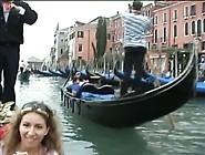 No Pants Upskirt At Gondola