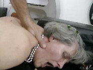 2 Grandmas And Blonde Milf Suck,  Fuck And Anal