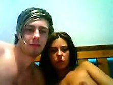 Beautiful Colege Couple Fucks On Webcam