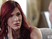 Redhead Ts Stefanie Special Begs To Gets Fucked By Hottie Dude B