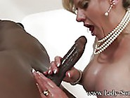 Lady Sonia - 11 Inches Big Black Cock Bbc Milked Dry