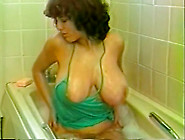 Curly Blond Haired Mature Slut With Huge Boobies Sucks Strong Lo