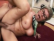 Big Breasted Granny Has A Horny Young Photographer Banging Her P